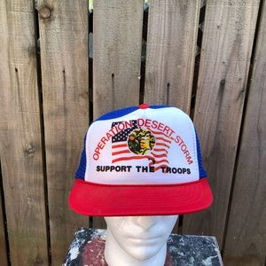 Vintage Operation Desert Storm Men's Snapback